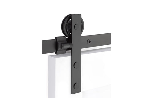 Modern Rectangular Face Mount - Steel  EMTEK  Barn Door Hardware