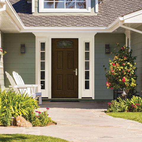 Fiber Classic® Oak Collection™  THERMA-TRU  Fiberglass Door