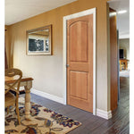 2 Panel Camber Top (C22A)  MASONITE  Interior Wooden Door  Le Chateau Collection