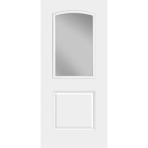 Masonite HD 1 Panel Camber Half Lite Doors  MASONITE  Exterior Steel Door