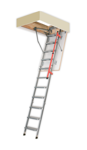 "LML Lux | Metal Insulated Attic Ladder | 27.5"" x 47"" 