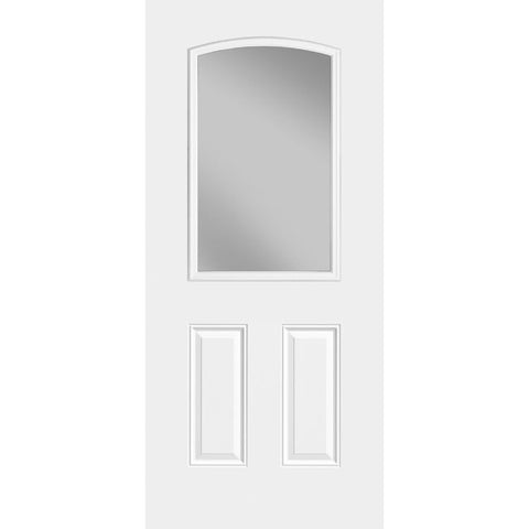 Sta-Tru 2 Panel Camber Half Lite Doors  MASONITE  Exterior Steel Door