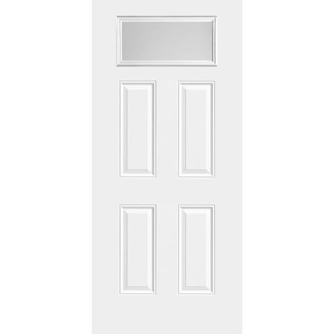 Sta-Tru 4 Panel Rectangle Lite Doors  MASONITE  Exterior Steel Door