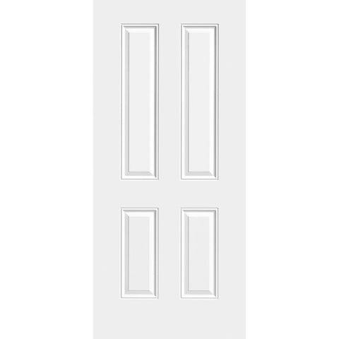 Sta-Tru 4 Panel New England Doors  MASONITE  Exterior Steel Door