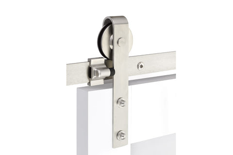 Classic Face Mount - Stainless Steel  EMTEK  Barn Door Hardware