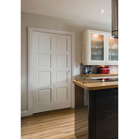 8 Panel (C88)  MASONITE  Interior Wooden Door  Le Chateau Collection