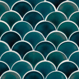 Azul Scallop  Pattern  Backsplash Tile  BOX