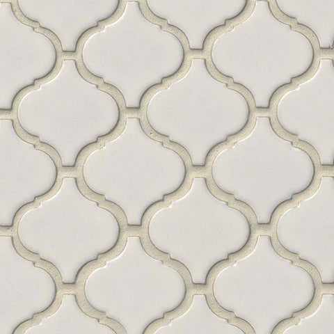 Bianco Arabesque  Pattern  Backsplash Tile  BOX