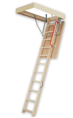 "LWP | Wooden Insulated Attic Ladder | 25"" x 54"" 