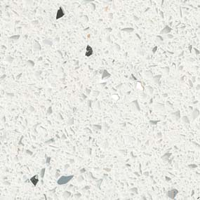 Sparkling White™  Prefabricated Countertops
