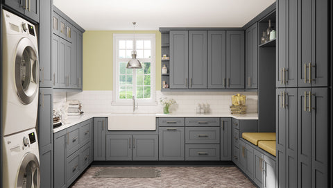 Shaker Grey | Modern Wooden Cabinets