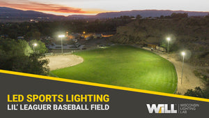 Entry Level Budget Baseball + Community Events Field LED Sports