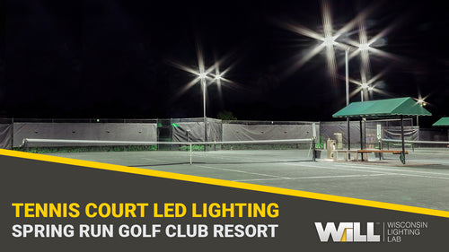 Bonita Springs Golf Club Resort Tennis Court + Parking Lot LED Lighting Upgrade