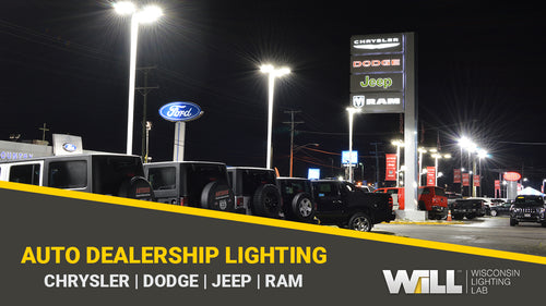 Creating Brighter Front Lines For Antioch Auto Dealership - Full LED Lighting Package