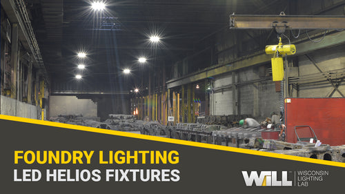 6-Engine LED Helios Light Fixtures | Barber Steel Foundry