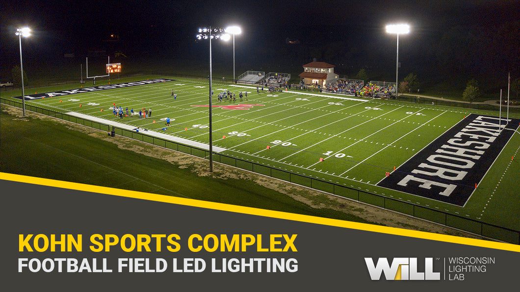 Complete Football Field Lighting Package | Kohn Sports Complex | Phase 1