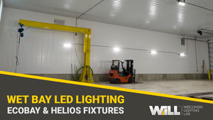 Schmidt's Pumping Wet Bay Facility - Highly Durable Helios & Ecobay Light Fixtures