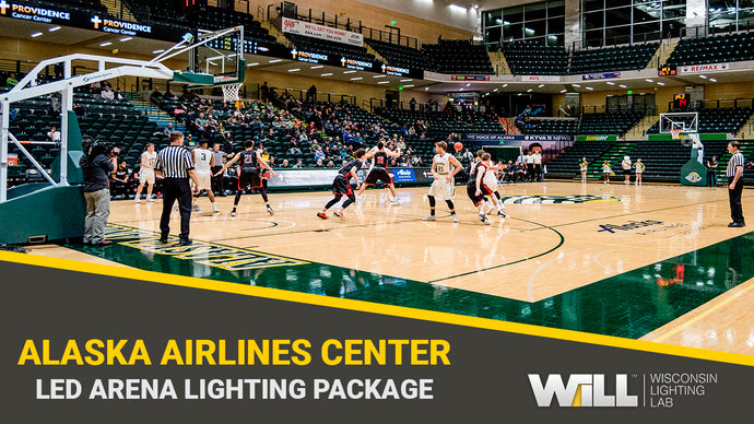 Alaska Airlines Center | LED Helios Lighting Package