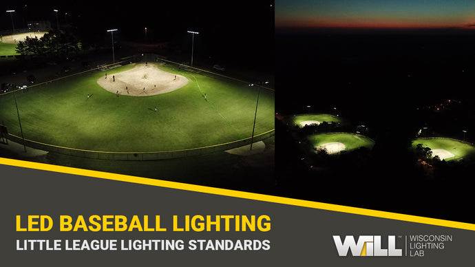 Little League Sports Lighting Package | Lighting 3 Baseball Diamonds for The City of Adams