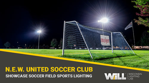 Showcase Soccer Field LED Lighting Upgrade | N.E.W. United Soccer Club