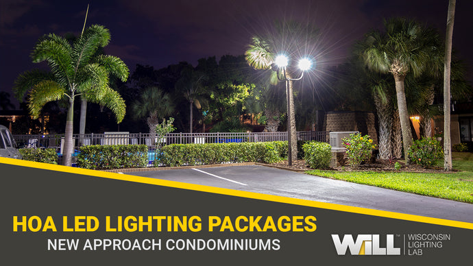 Customized HOA LED Lighting Packages | New Approach Condominiums