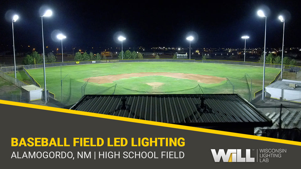 High-Output LED Baseball Field Lighting Solution | AHS, Alamogordo, NM