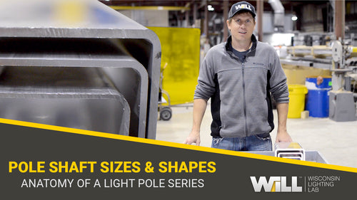 Pole Shaft Sizes and Shapes | Anatomy Of A Light Pole