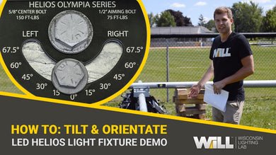 How To: LED Helios Sports Light Fixture Aiming