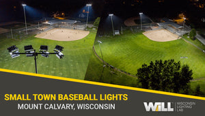 Mt. Calvary Athletic Club Baseball Field LED Lighting Project