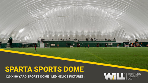 Sparta Sports Dome Lighting | LED Helios Light Fixtures