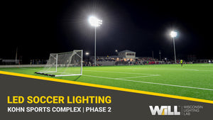 Michigan High School Soccer Field Lighting | Kohn Sports Complex