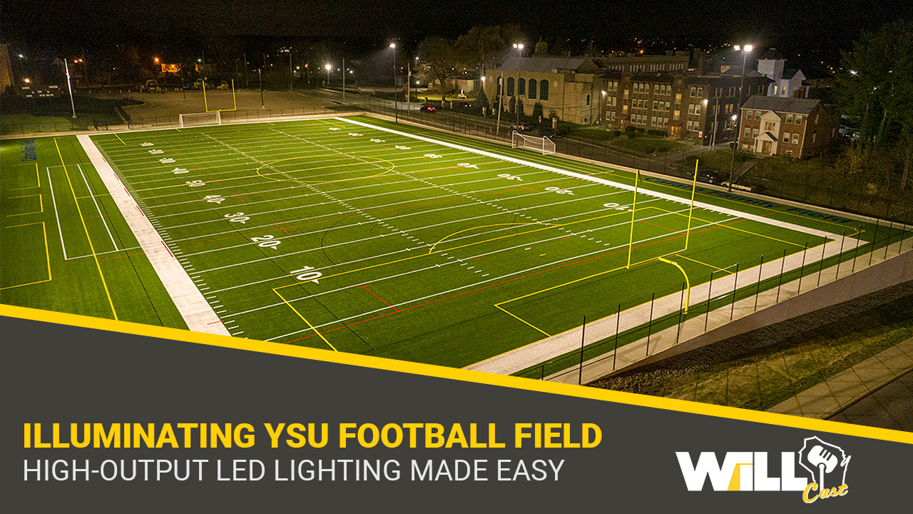 Intramural Football Field High-Output LED Lighting MADE EASY | Youngstown State University