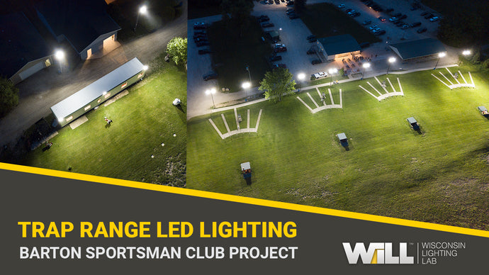 Trap Range LED Lighting Replacement Project | West Bend Barton Sportsman's Club