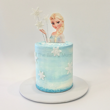 Load image into Gallery viewer, Frozen Themed Elsa Cake