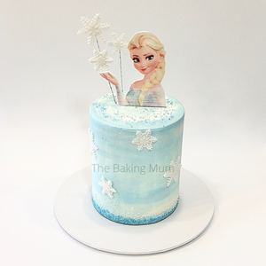 Frozen Themed Elsa Cake