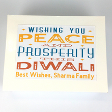 Load image into Gallery viewer, Diwali Personalised Chocolate Box