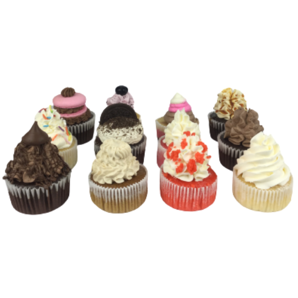 Mixed Flavour Cupcake Box