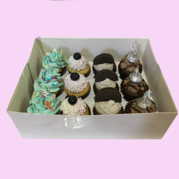 Mixed Mini Cupcake Box - 1