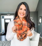 Infinity Scarf - Harvest Orange