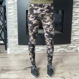 Camo Yoga Band Leggings