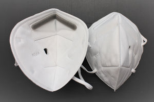 Two of KN95 Face Mask With Tube Hole - Broad Airpro Mask Online Store
