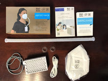 Load image into Gallery viewer, Broad Airpro Mask (2nd Gen.) + Two of KN95 Masks With Tube Hole - Broad Airpro Mask Online Store