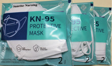 Load image into Gallery viewer, Six of KN95 Face Mask With Tube Hole - Broad Airpro Mask Online Store