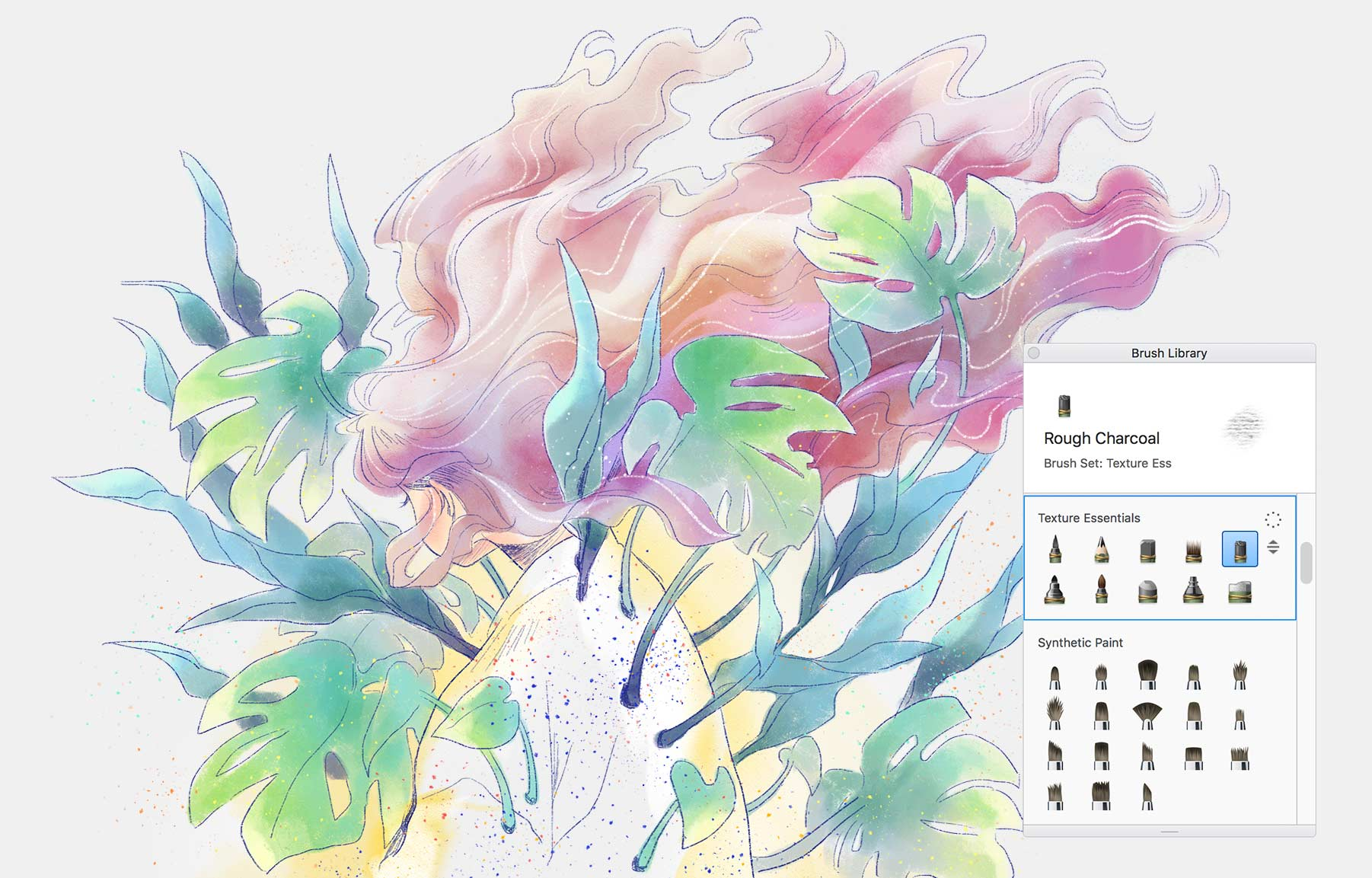 Autodesk sketch book ソフト