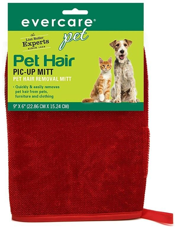Canine's World Evercare Dog Brushes & Combs Evercare Pet Hair Pic-Up Mitt