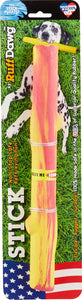Ruff Dawg Crunch Stick Dog Toy, Color Varies, Stick - Canine's World