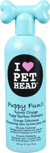Pet Head Puppy Fun Puppy Tearless Shampoo - Yummy Orange - Canine's World