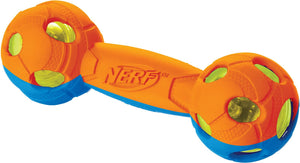 Nerf Dog Light Up Bash Barbell Dog Toy, Medium - Canine's World