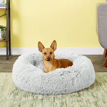 Load image into Gallery viewer, Best Friends by Sheri Luxury Shag Donut Self-Heating Orthopedic Dog Bed,  - Canine's World Best Friends by Sheri Frost / Small Orthopedic Beds