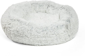 Best Friends by Sheri Luxury Shag Donut Self-Heating Orthopedic Dog Bed,  - Canine's World Best Friends by Sheri Orthopedic Beds